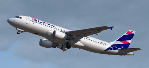 Airbus A320-214 CFM LATAM Colombia CC-BAR