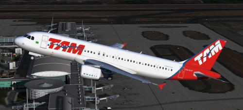 Airbus A320-214 CFM LATAM (TAM Linhas Aereas Livery) PR
