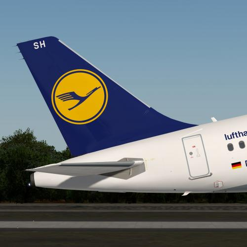 Lufthansa A321 old colours Fleet Pack