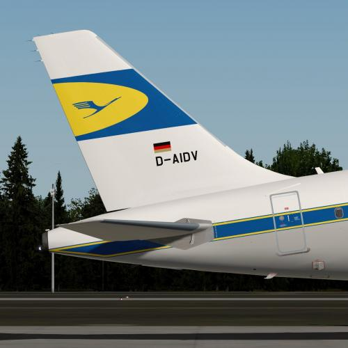 Lufthansa A321 D-AIDV RETRO LIVERY