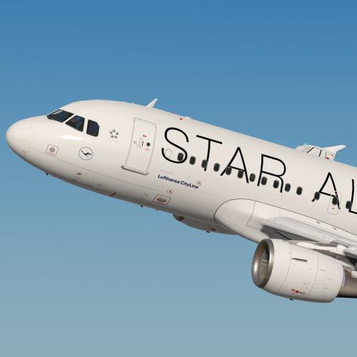 Lufthansa CityLine A319 Star Alliance D-AILP
