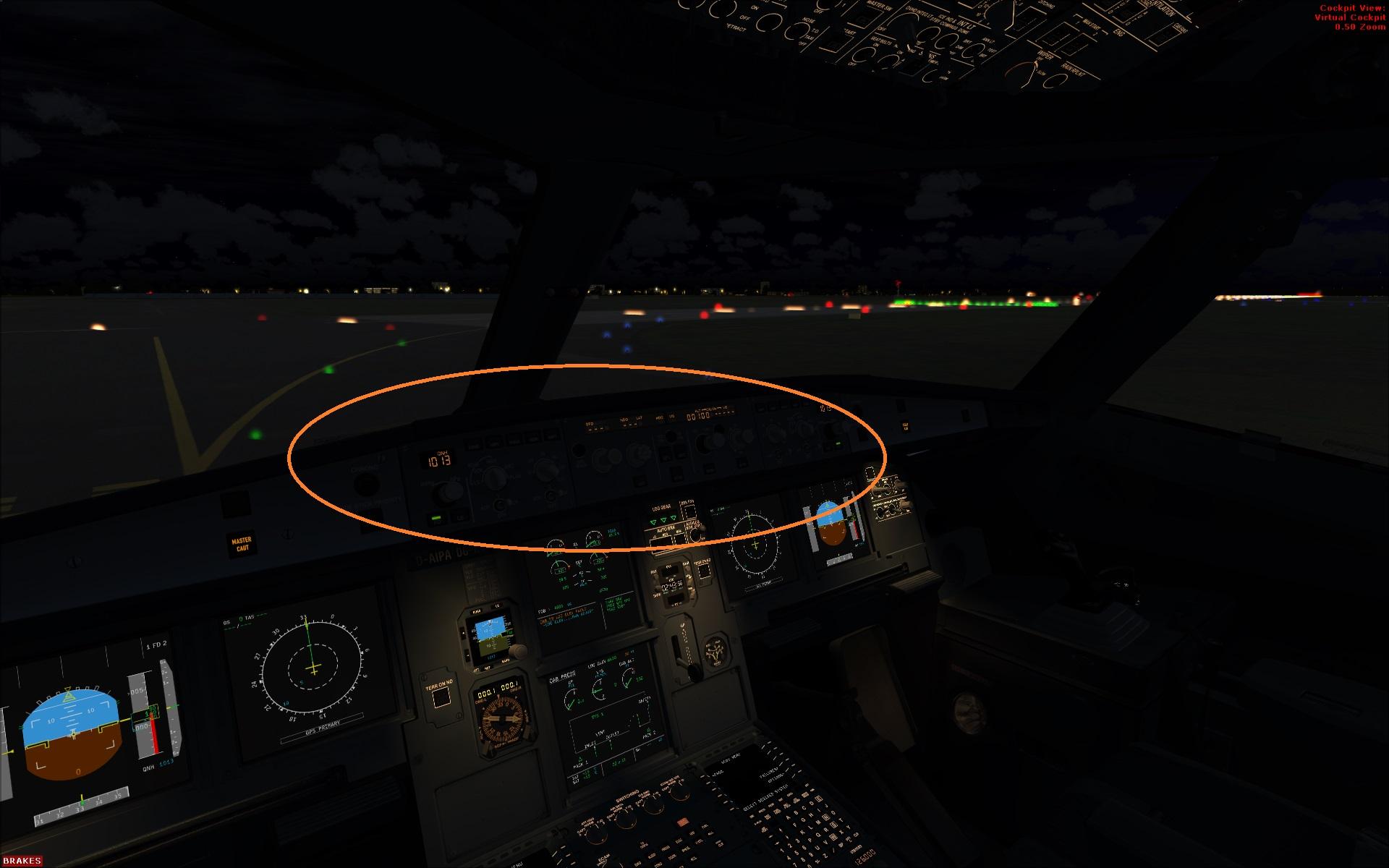 How to illuminate MCP? - Archive - Flight Sim Labs Forums