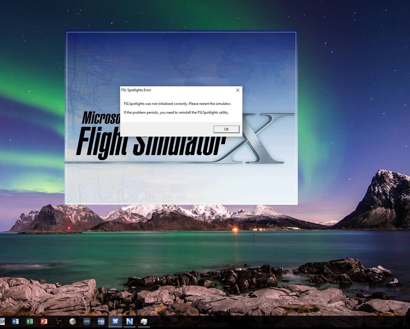 FSL Spotlights Error' - FSL Spotlights - Flight Sim Labs Forums