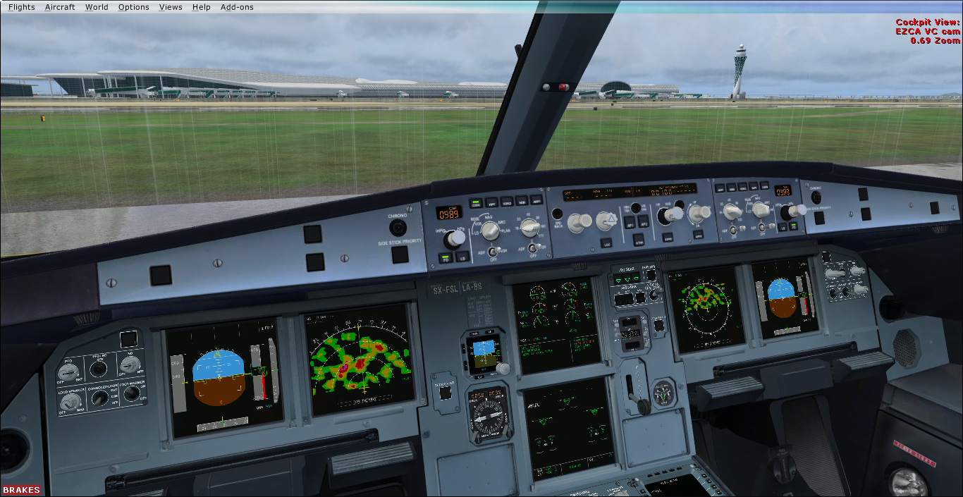 A320X Blank screens and no LDG gear in external view - Archive