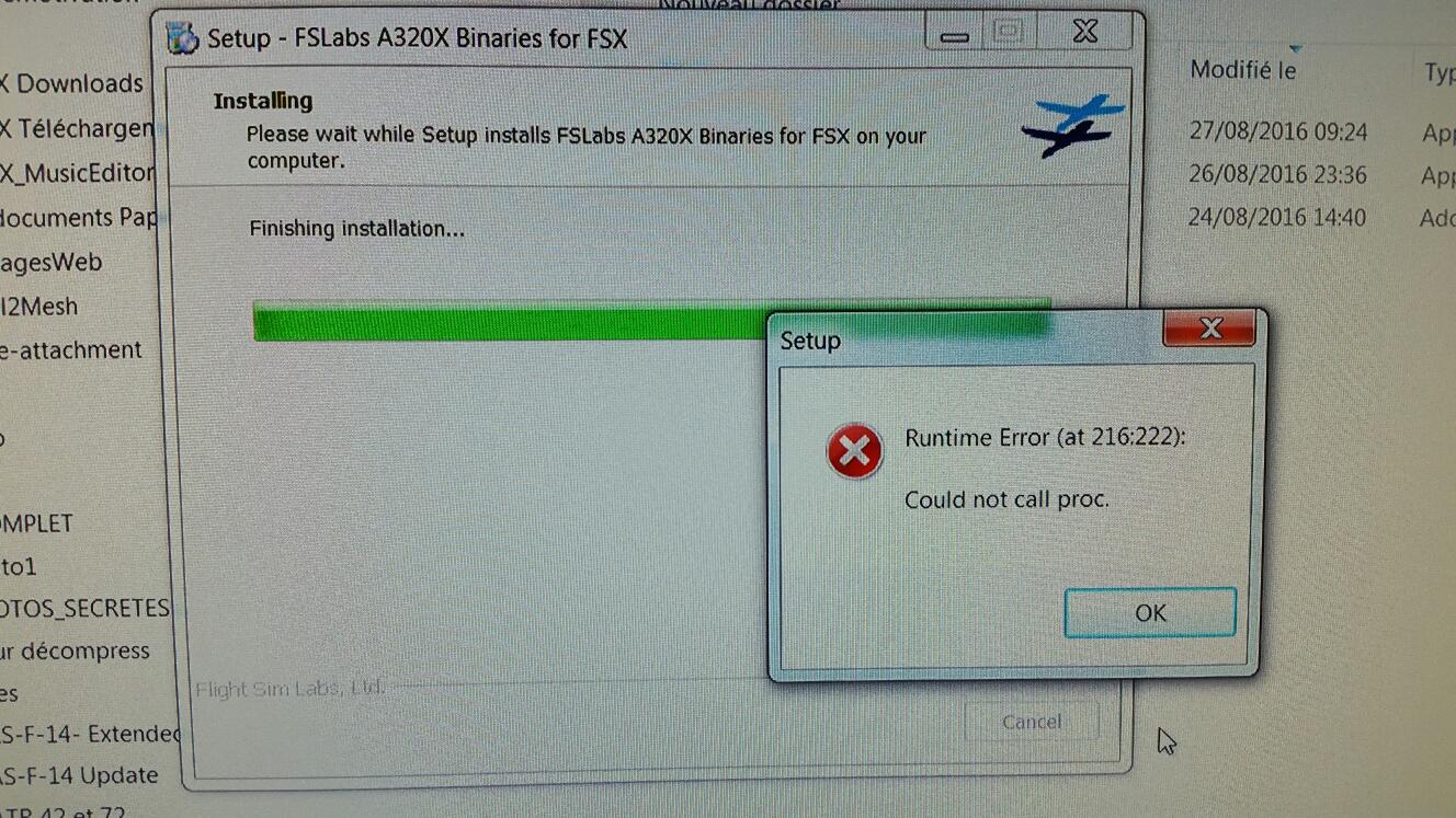 Cutepdf install error 216