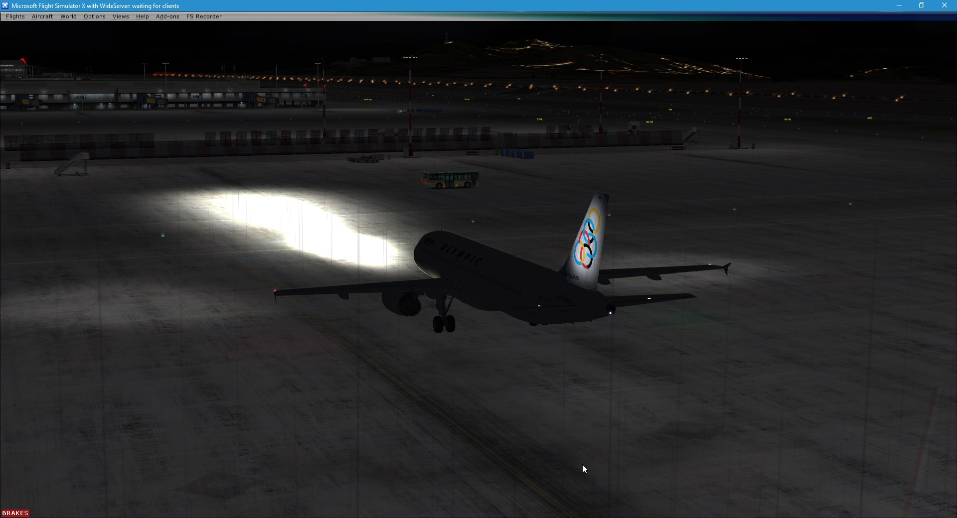 external lights too bright - Archive - Flight Sim Labs Forums
