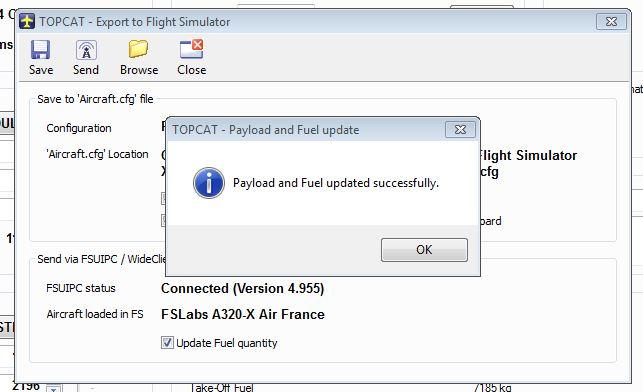 Topcat Aircraft Database Update