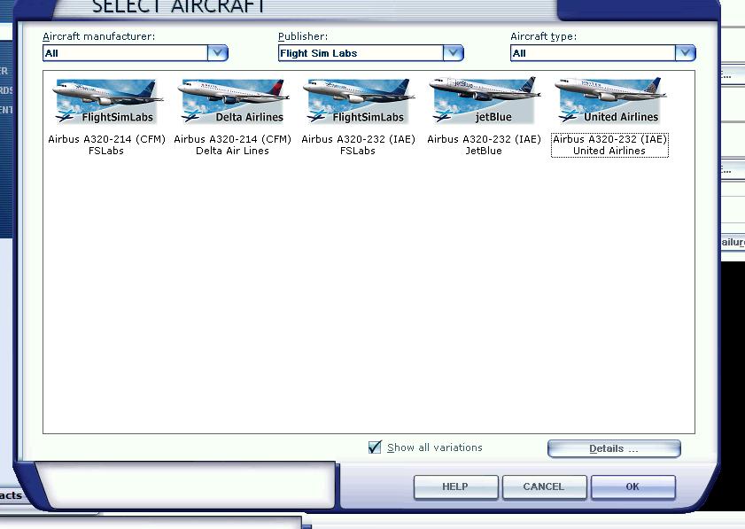 Liveries not visble - Archive - Flight Sim Labs Forums