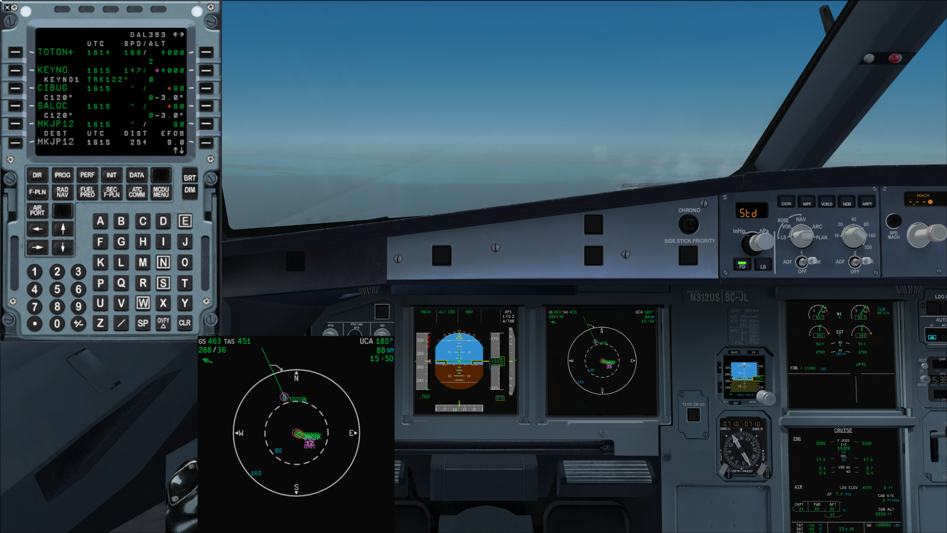 LOSS OF FMGS FUNCTIONS ON mcdu - Archive - Flight Sim Labs Forums