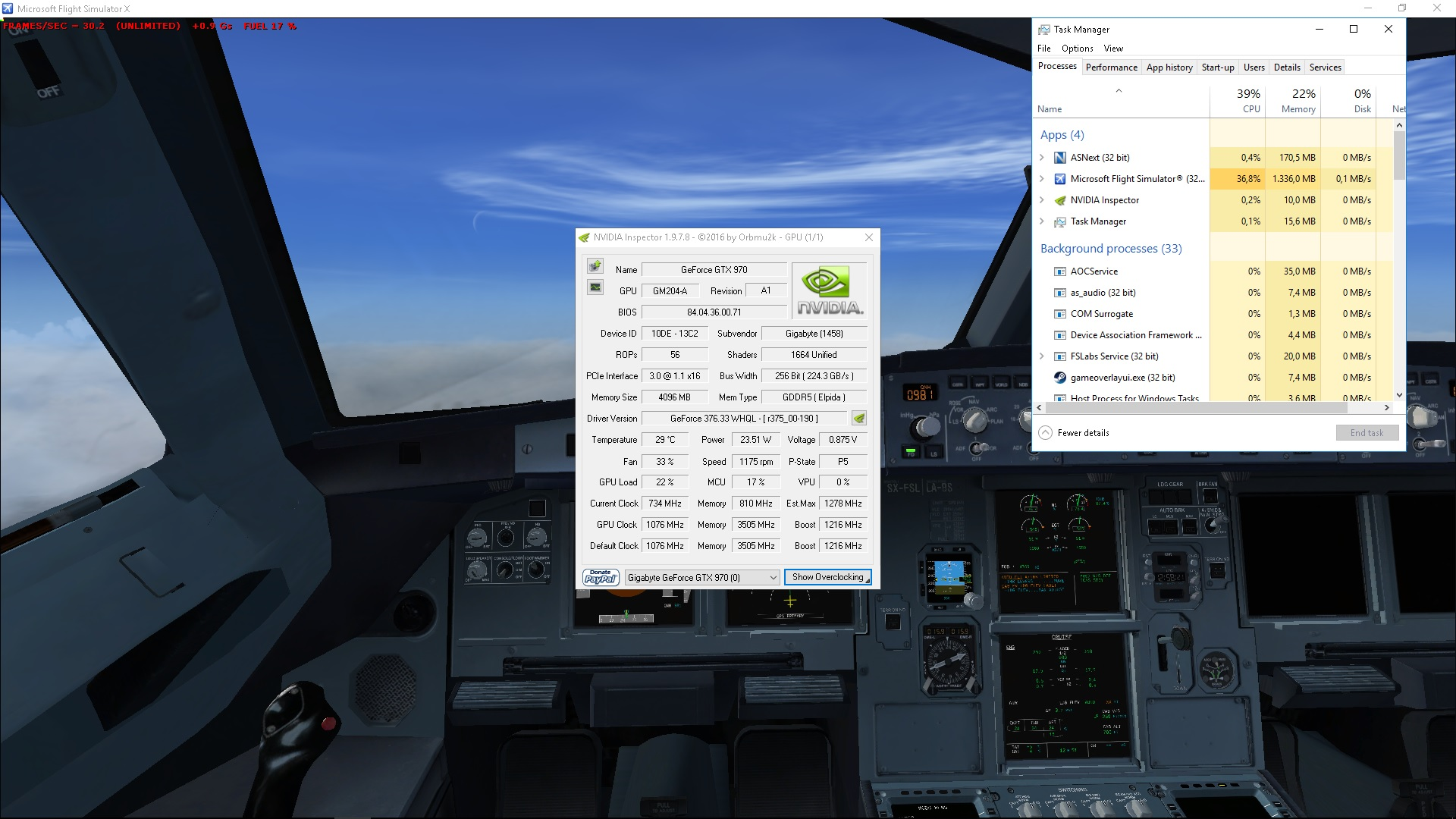 Low FPS with new system - General Discussion - Flight Sim