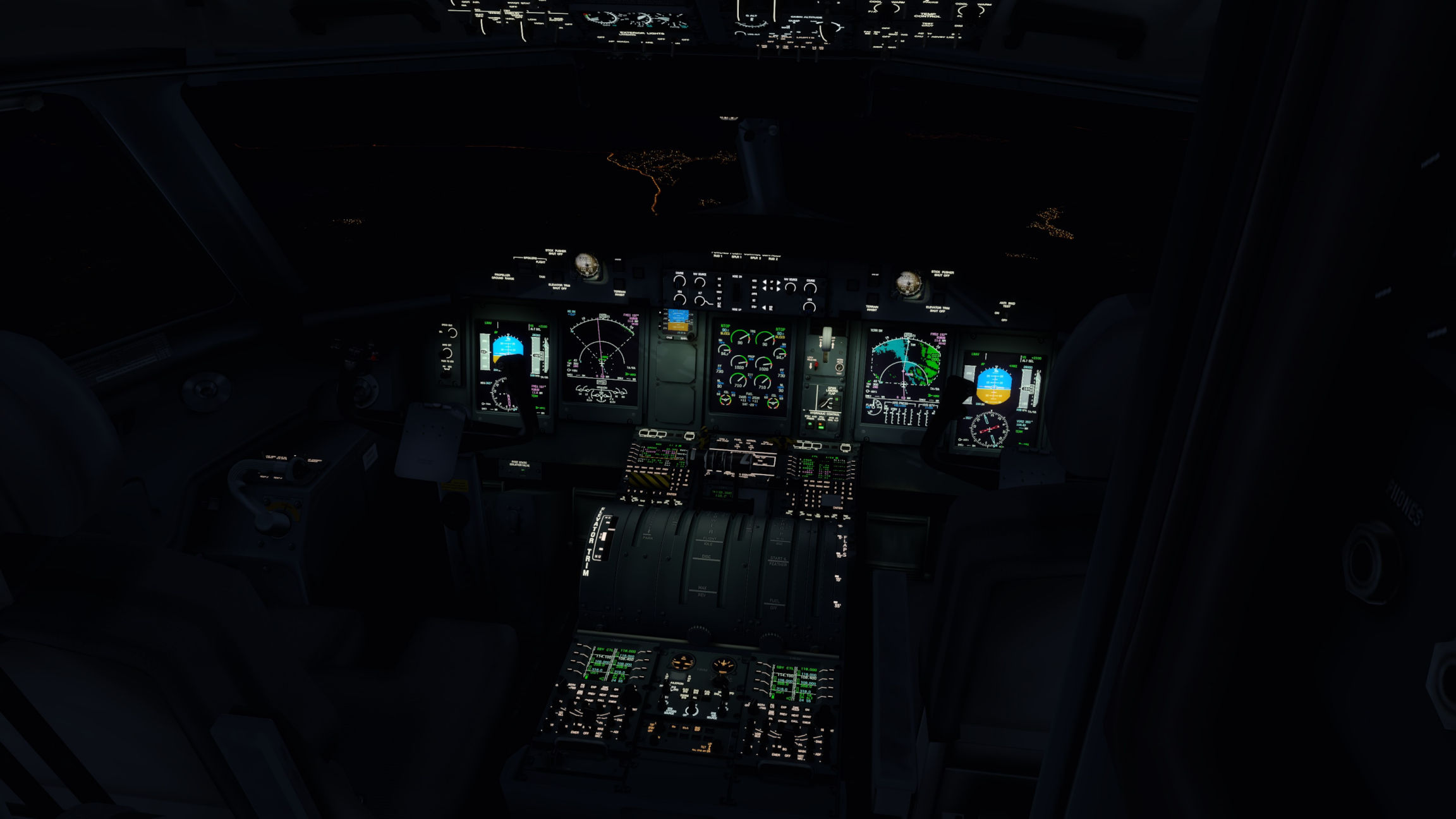 Q400 Cockpit Lighting - FSL Spotlights - Flight Sim Labs Forums