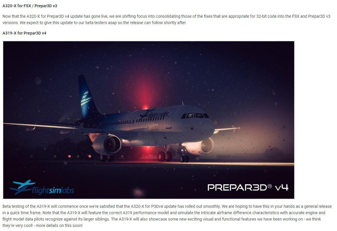 A320x update for P3D V3 - General Discussion - Flight Sim
