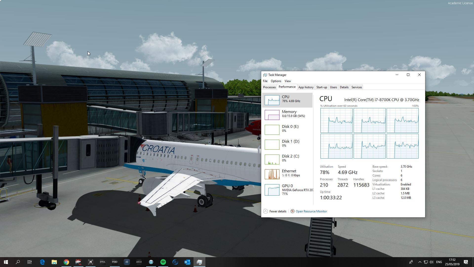 Stutters with good FPS - General Discussion - Flight Sim Labs Forums